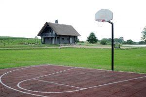 Krepšinio, tinklinio aikštelė